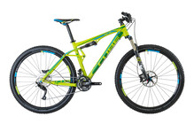 Cube AMS 120 29 Race green 'n' blue